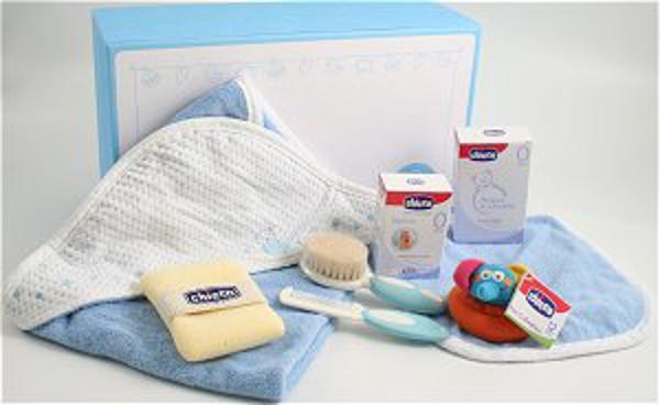 Immagine di Cofanetto 2 Cosmetica e Igiene Azzurro