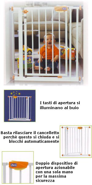 Immagine di Cancelletto Nightlight Autoclose