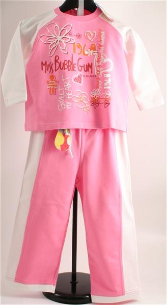 Immagine di Tuta jogging bimba rosa