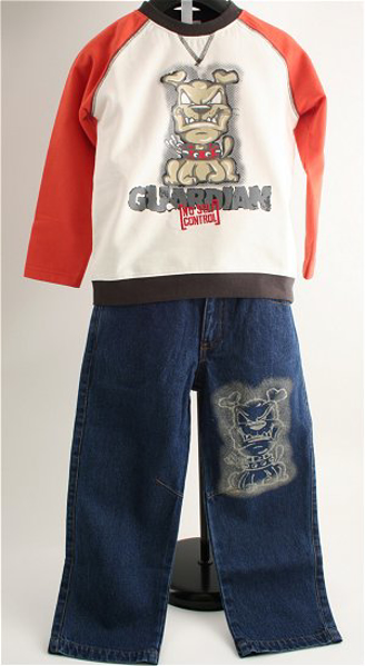 Immagine di Completo Jeans