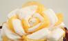 Immagine di Torta di Pannolini Fiore Rosa Gialla