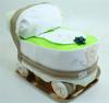 Immagine di Torta di Pannolini Carrozzina Verde