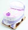 Immagine di Torta di Pannolini Carrozzina Lilla